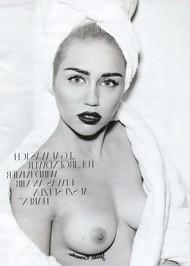 Голая актриса, певица Miley Cyrus фото, эротика, картинки - фотосессия из мужского журнала GQ на Xuk.ru! Фото 110