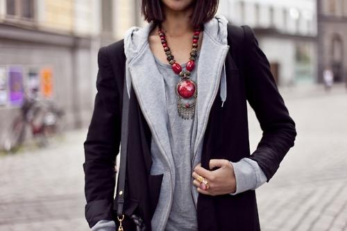 Уличные модные луки