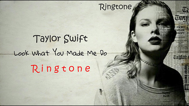 Taylor swift ringtones for android
