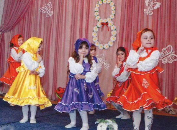 Праздник в садике 8 марта
