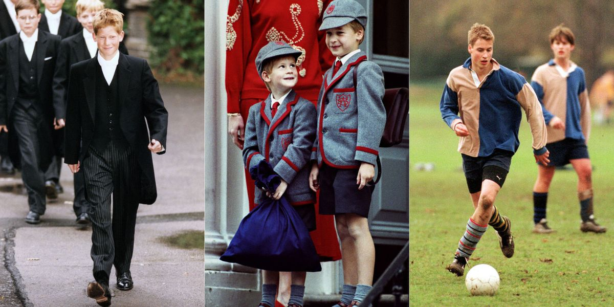 Prince william childhood photos