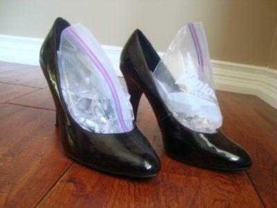 Лаковые туфли как растянуть