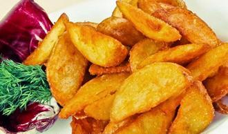 Сколько ккал в картошке жареной