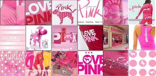 Pink graphics myspace
