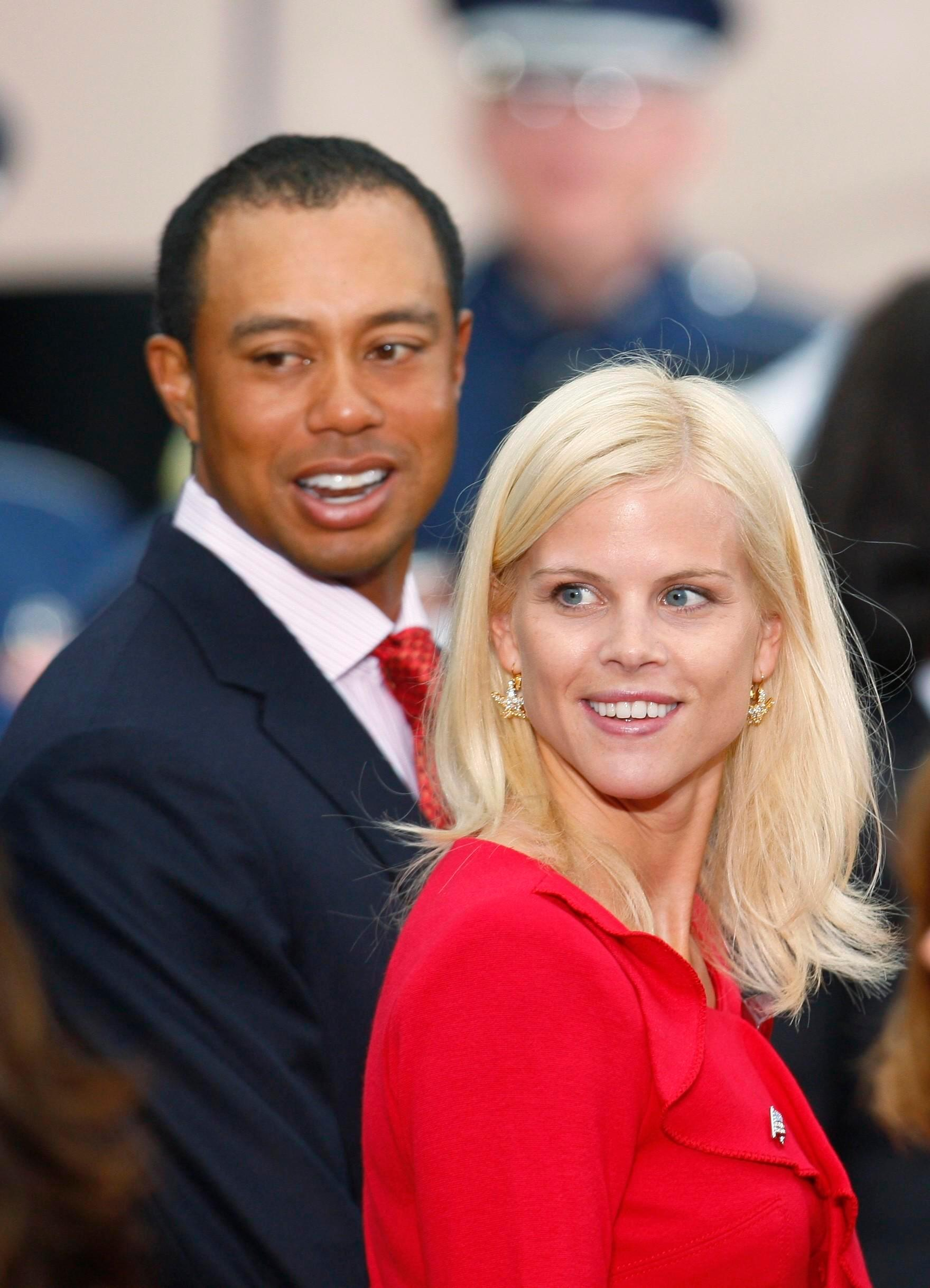 Tiger woods divorced