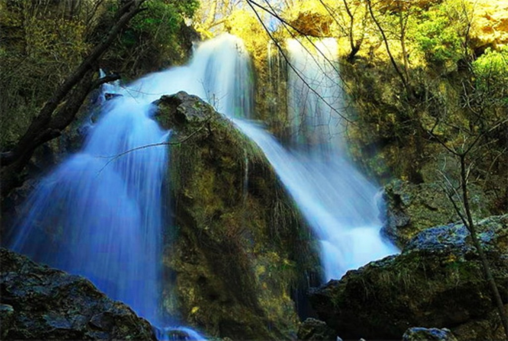 Водопады крымские