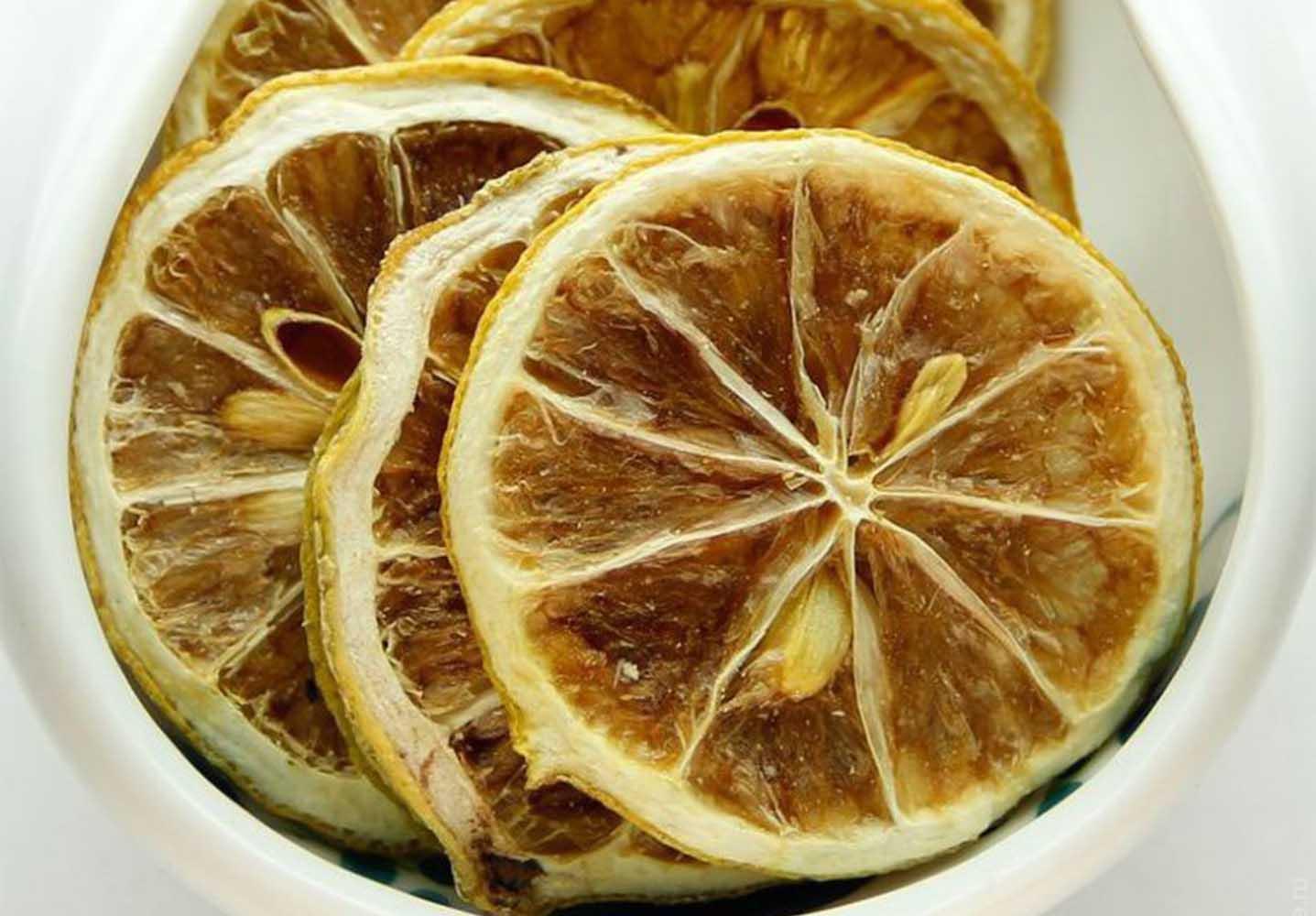 Как сушить лимон