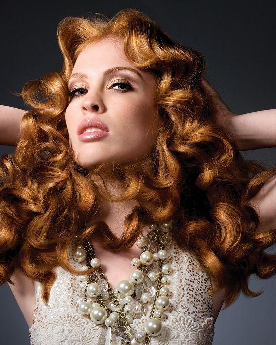 стрижка каскад на волнистые волосы