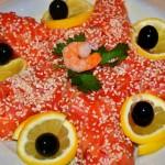 Салат легкий с креветками рецепт с фото