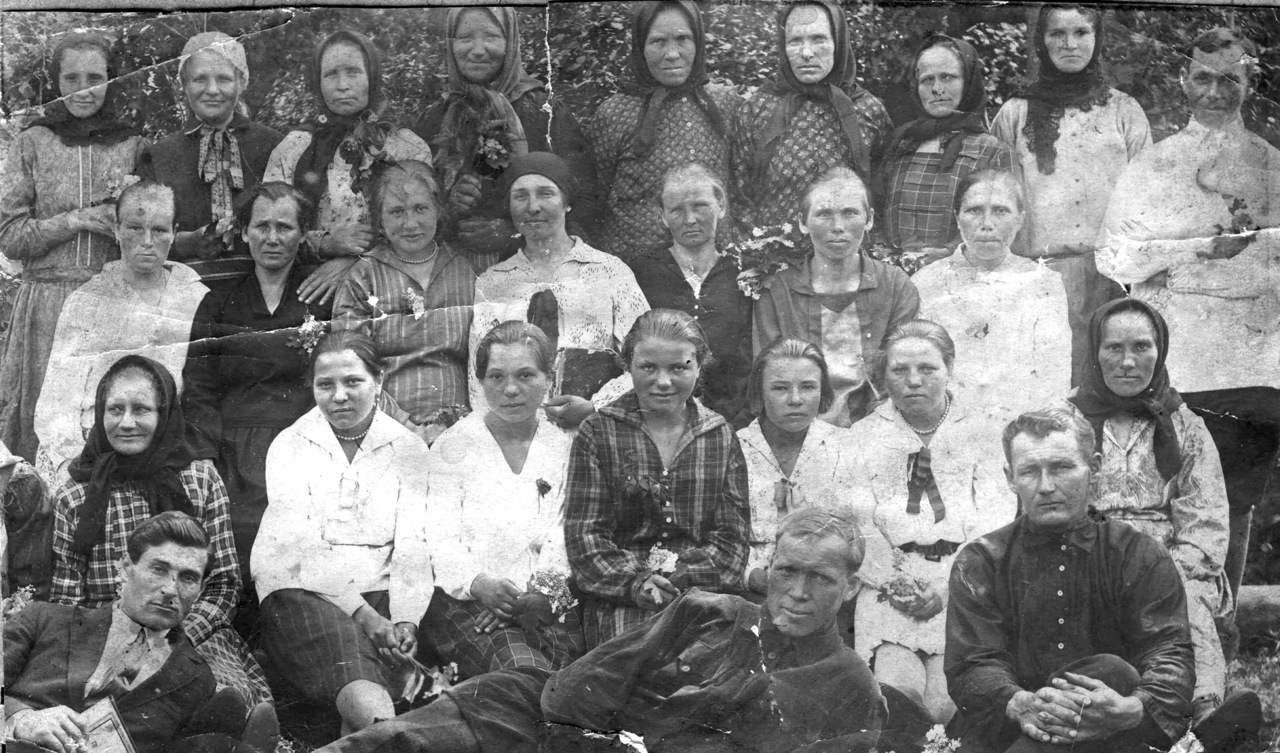 Селяне. 1910 г.