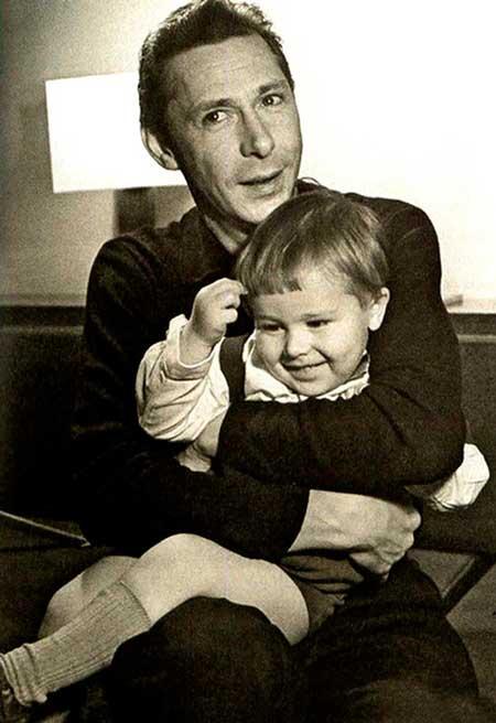 Михаил Ефремов в детстве