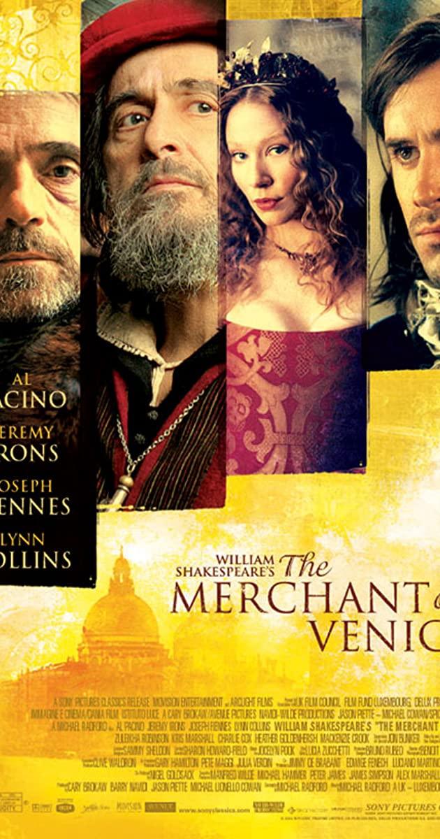 Al pacino on broadway in the merchant of venice