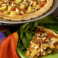 Pineapple Macadamia Nut Pizza