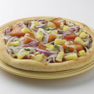 Caribbean Jerk Pineapple Pizza