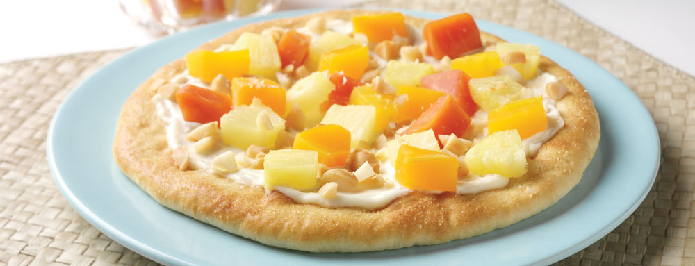 Photo of Tropical Cheese Cake Pizza