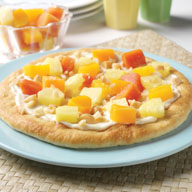 Tropical Cheese Cake Pizza