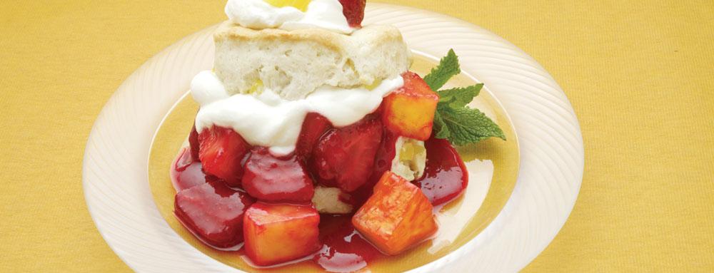 Photo of Strawberry Pineapple Shortcake