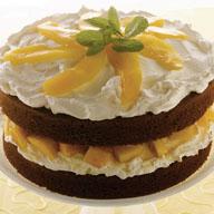 Mango Chocolate Shortcake