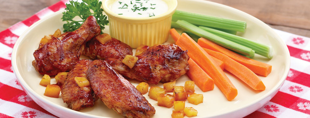 Photo of Easy Aloha Chicken Wings
