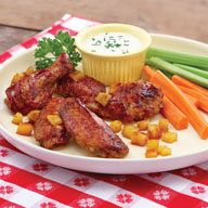 Easy Aloha Chicken Wings