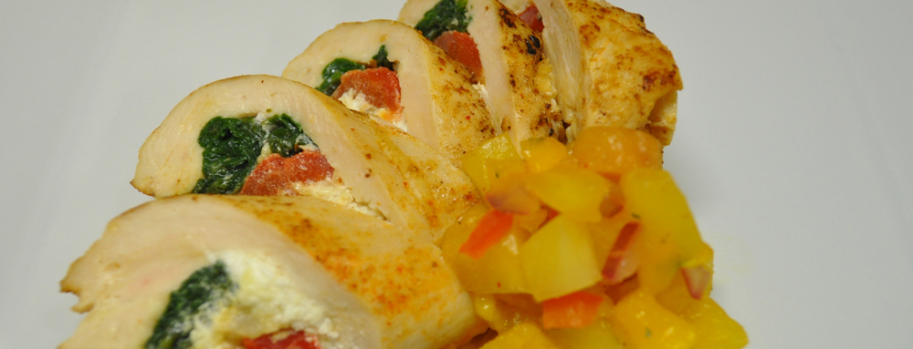 Photo of Stuffed Chicken Roulade