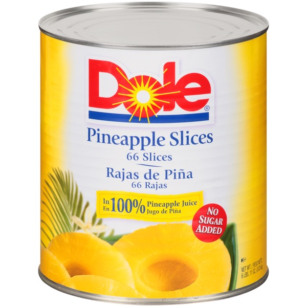 6/10 (107 Oz.) Choice Slices In 100% Fruit Juice 66