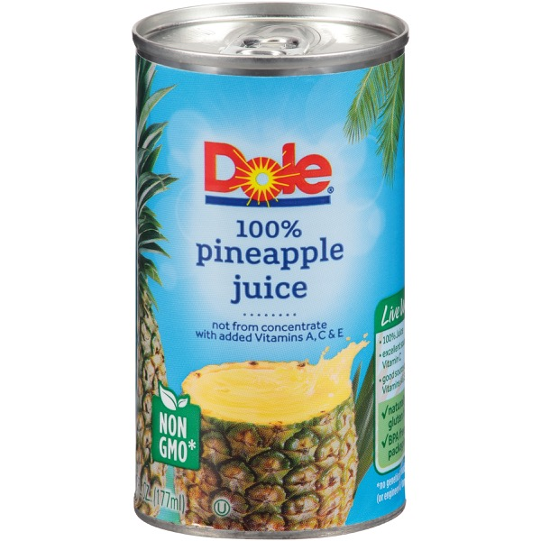 2/24/6 Oz. Pineapple Juice