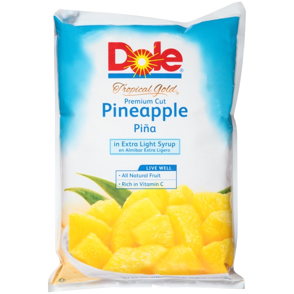 6/81 Oz. Tropical Gold®  Pineapple In Extra Ls