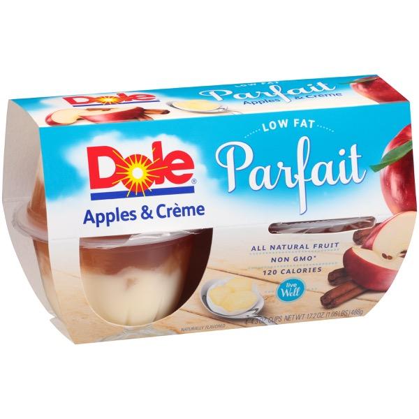 6/4 Pk/4.3 Oz. Apples & Caramel CrÈme Fruit Parfait