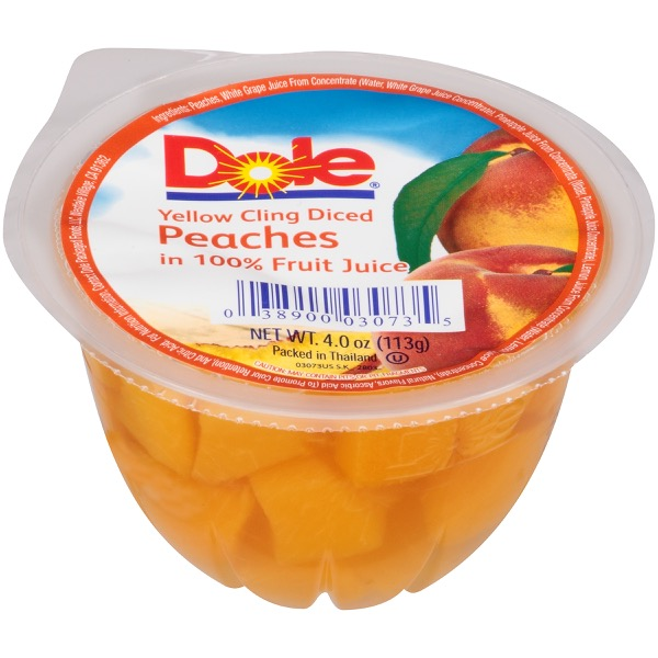 36/4 Diced Peaches In Juice
