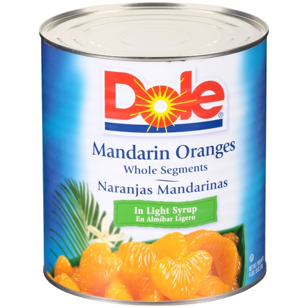 6/10 (106 Oz.) Mandarin Orange In Light Syrup