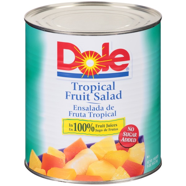 6/10 (106 Oz.) Tropical Fruit Salad In Fruit Juice
