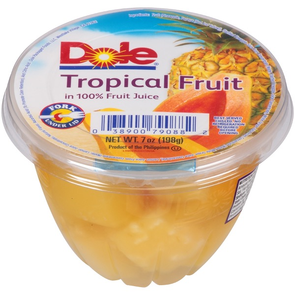 12/7 Oz. Tropical Fruit In 100% Fruit Juice
