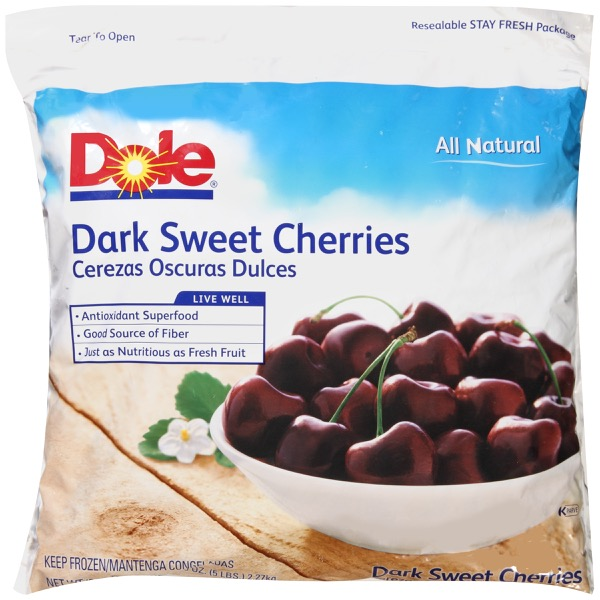 2/5# Cherries, Dark Sweet IQF