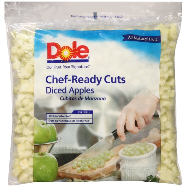 2/5# Diced Apple IQF