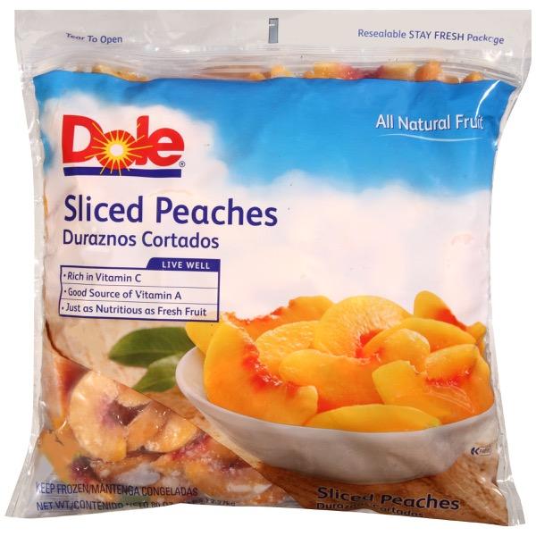 2/5# Peaches, Sliced IQF