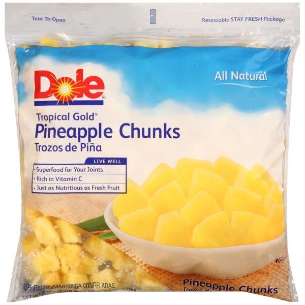2/5# Pineapple, Chunks IQF