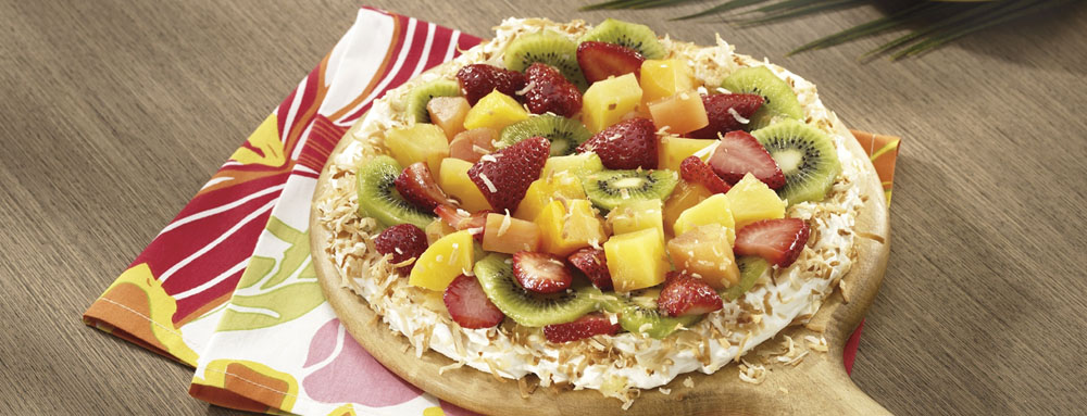 Photo of Tropical Coconut Pizza Pie