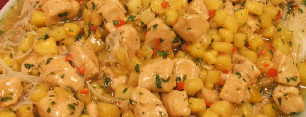 Photo of Sauteed Chicken with Lemongrass and Pineapple