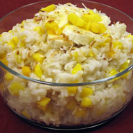 Sticky Rice with Mangos