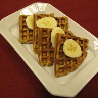 Saigon Cinnamon Banana Waffles