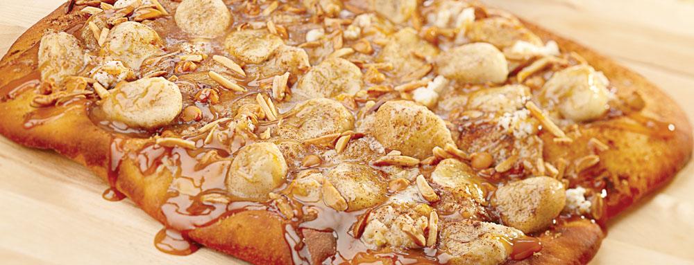 Photo of Banana and Saigon Cinnamon Spiced Pizza