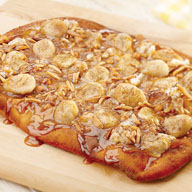 Banana and Saigon Cinnamon Spiced Pizza