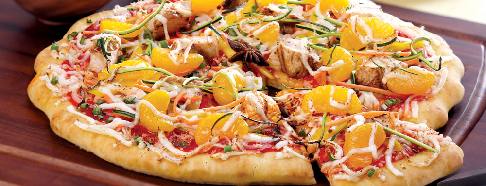 Photo of Mandarin Orange and Star Anise Chicken Pizza