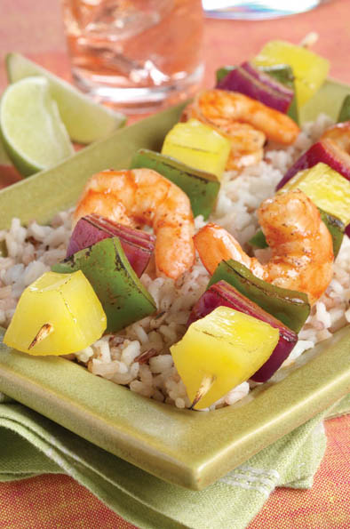 Photo of Chipotle Shrimp and Pineapple Kabobs