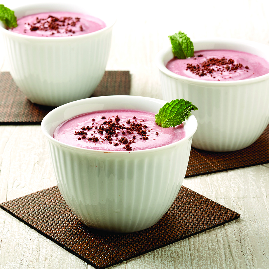 Ricotta Raspberry Mousse