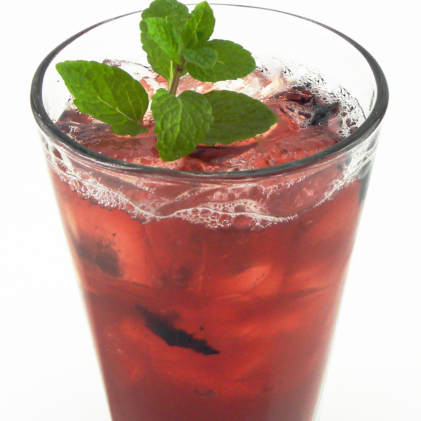 Handcrafted Blueberry Shrub Tea