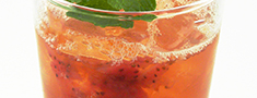 Photo of Handcrafted Strawberry Shrub Tea