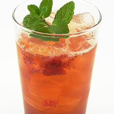 Handcrafted Strawberry Shrub Tea