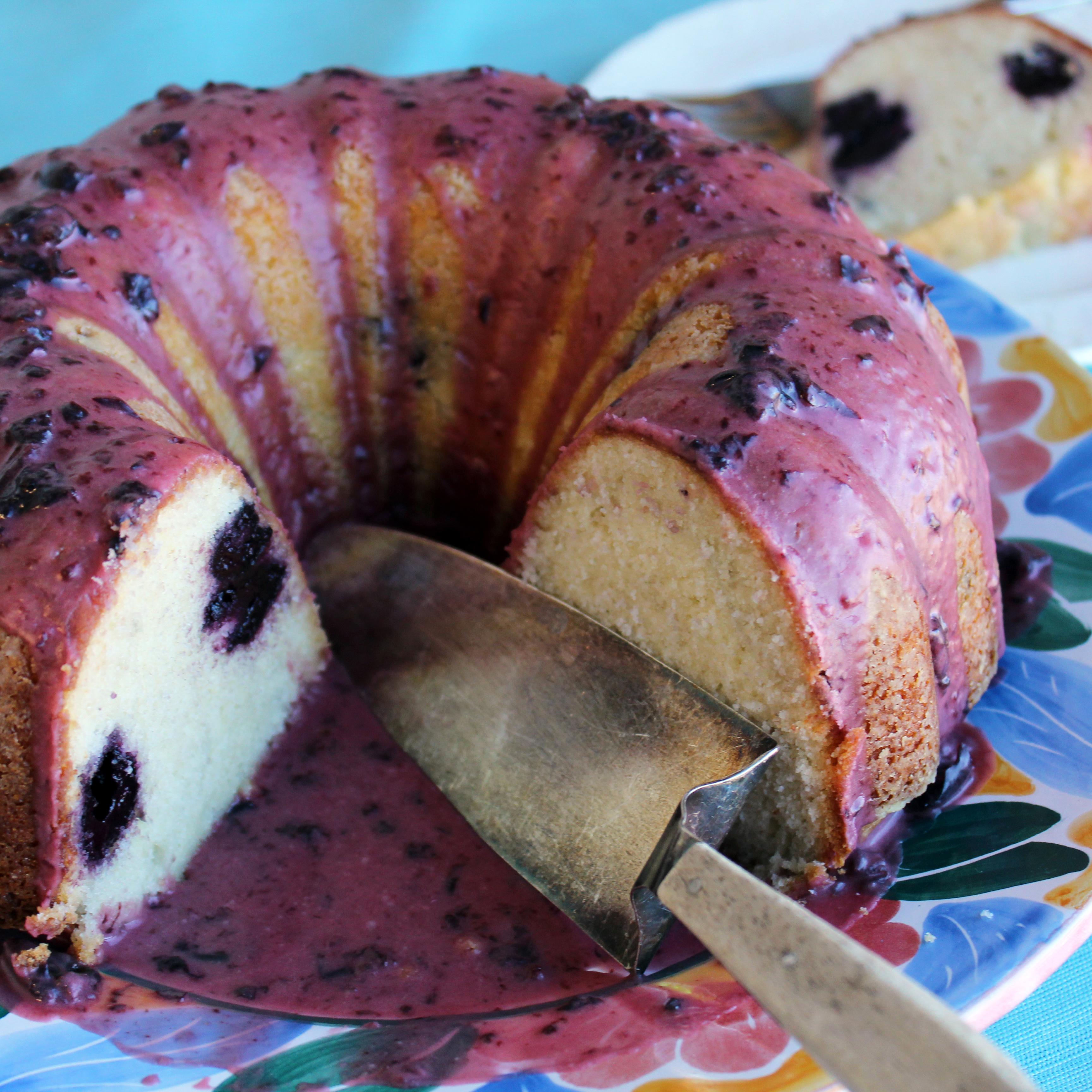 Cherry Rum Cake